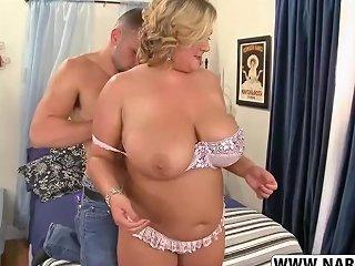 Slutty Fake Mother Anna Kay Riding Cock Good Tender Son