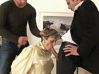 Unfaithful Wife Covered In Cum
