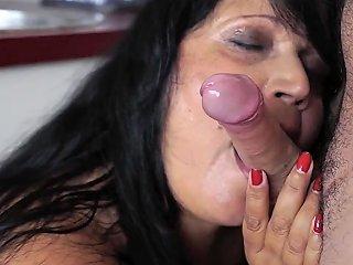Buxom Granny Mouthful