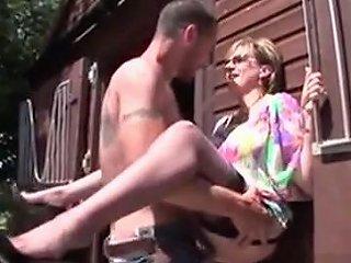Cheating British Mature Lady Sonia Exposes Her Gigantic Boob